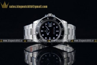 1:1Rolex Sea-Dweller SS/SS Black Swiss ETA 2836/Super Swiss ETA 2836/Rolex 3235 (BP)