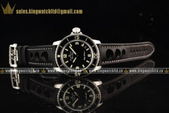 1:1 Blancpain Fifty Fathoms SS/RU Black Miyota 9015 Automatic (ZF)