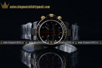 1:1Rolex Daytona Les Artisans De Geneve & Kravitz Design LK 01 Customized Chrono PVD/SS Black Rolex 4130 (BP)