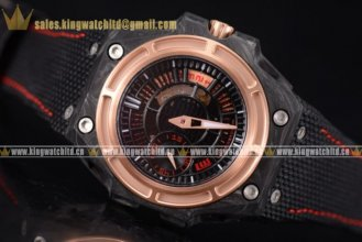Linde Werdelin Spidolite II Tech Gold Forge Carbon/LE Skeleton A-7750