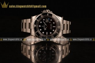 1:1 Rolex Sea-Dweller SS/SS Black ETA 2836(AAAF)